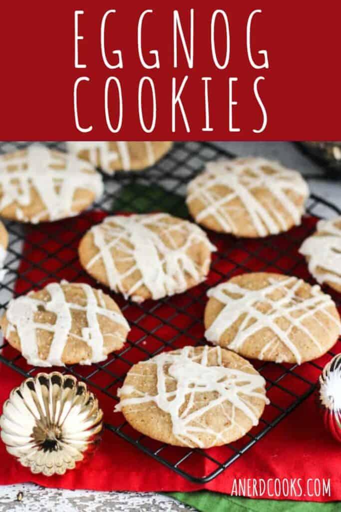 Eggnog Cookies | A Nerd Cooks