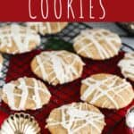 pinterest pin for eggnog cookies