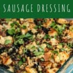 Herbed Kale and Sausage Dressing | A Nerd Cooks