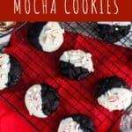 Peppermint Mocha Cookies | A Nerd Cooks