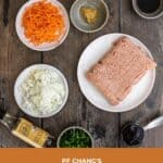 pinterest pin for P.F. Chang's Chicken Lettuce Wraps