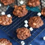 Hot Chocolate No Bake Cookies | A Nerd Cooks