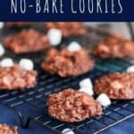 Hot Chocolate No-Bake Cookies | A Nerd Cooks