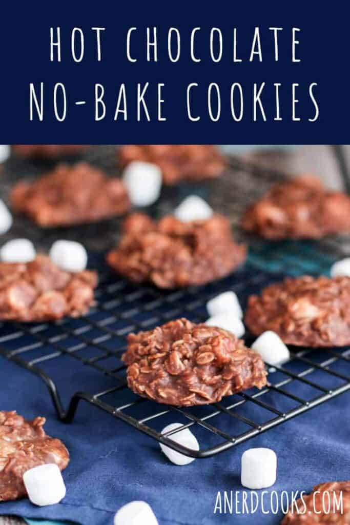 Hot Chocolate No-Bake Cookies | A Nerd Cooks