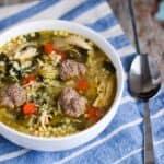 Italian Wedding Soup | A Nerd Cooks