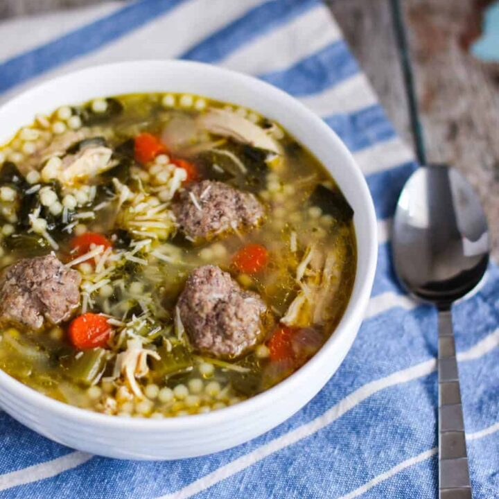 Italian Wedding Soup   A Nerd Cooks