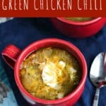 Pressure Cooker Green Chicken Chili | A Nerd Cooks
