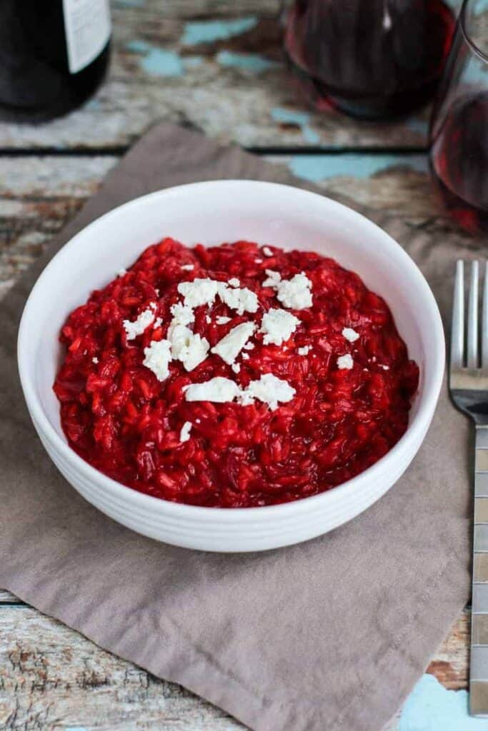 Beet Risotto | A Nerd Cooks