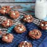 Chocolate Cookies and Cream Pudding Cookies | A Nerd Cooks