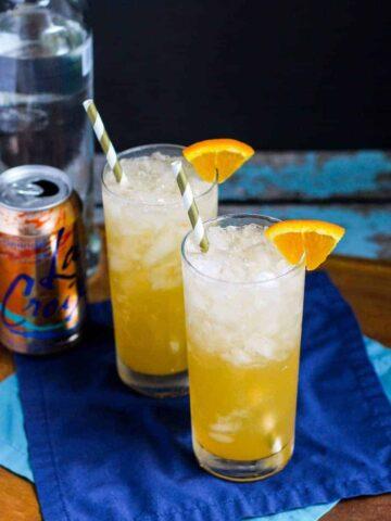 Orange Creamsicle Crush | A Nerd Cooks