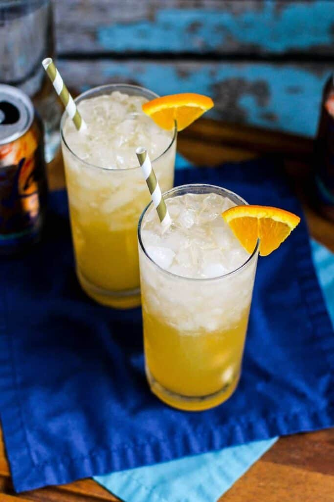 Orange Creamsicle Crush | A Nerd Cooks