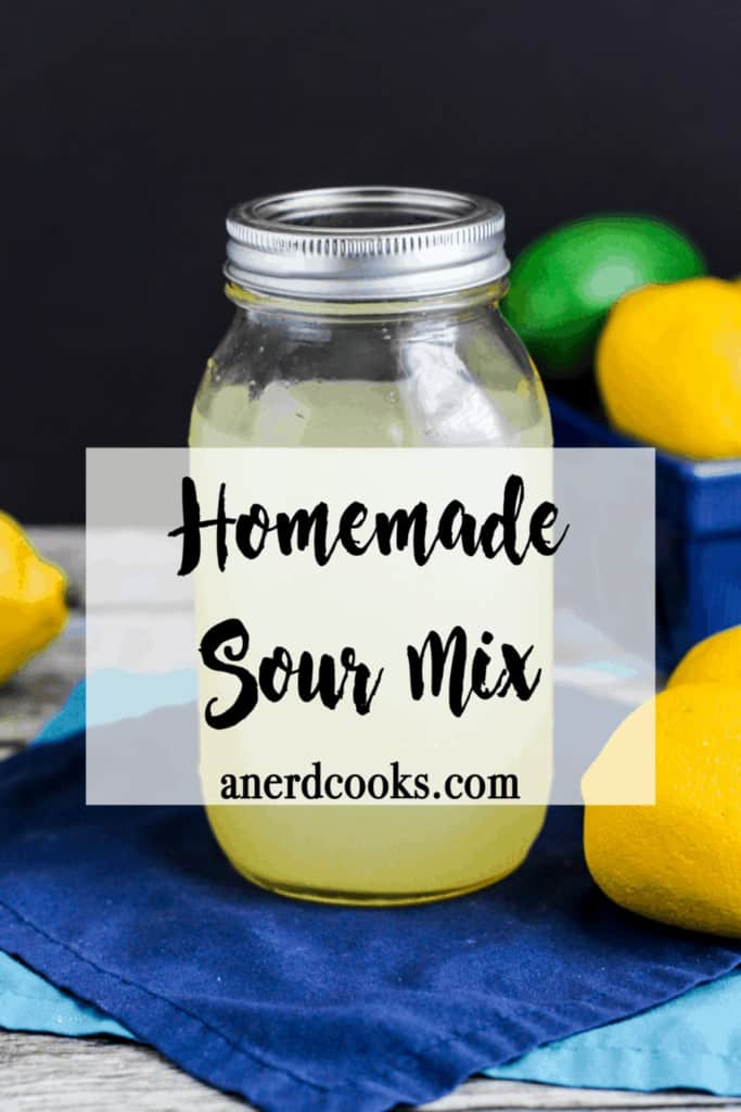 Homemade Sour Mix | A Nerd Cooks