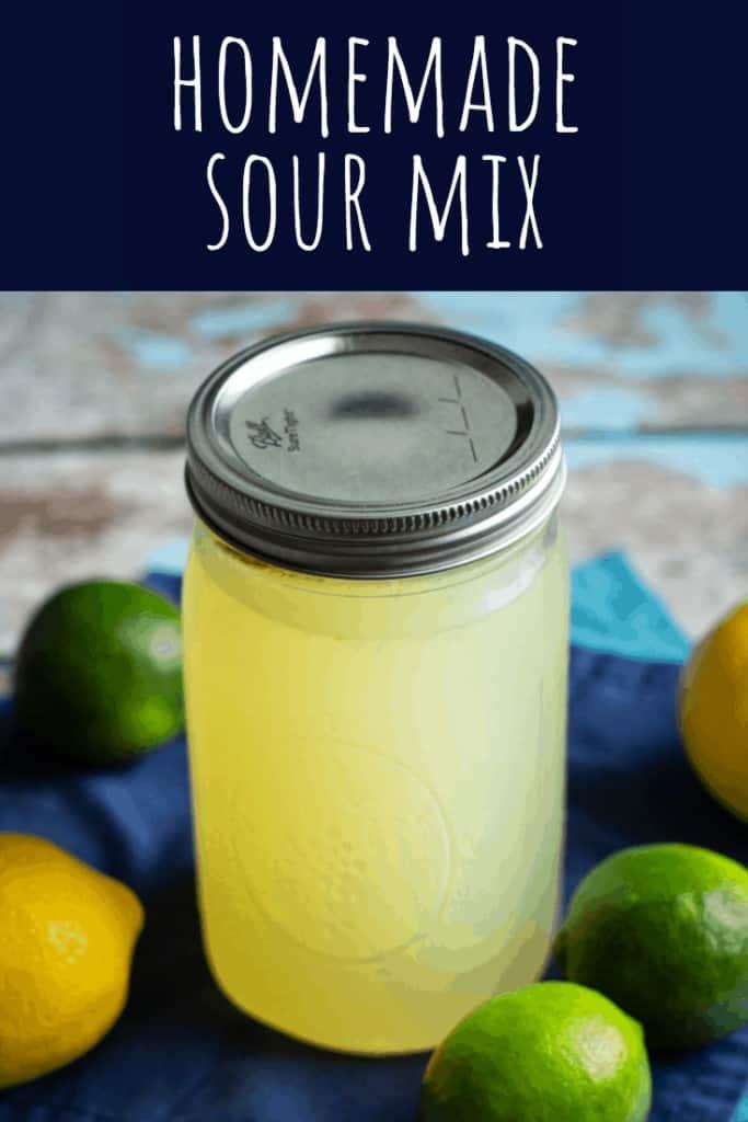 Homemade Sour Mix | A Nerd Cooks
