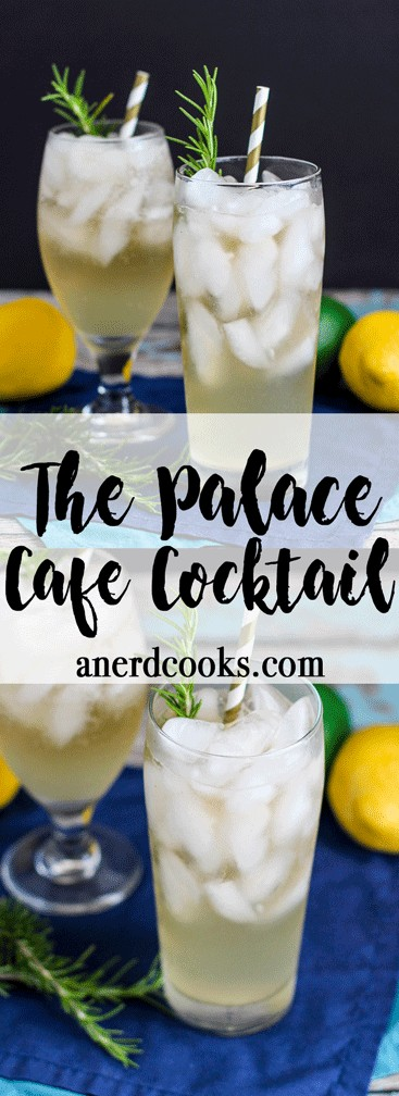 The Palace Cafe Cocktail | A Nerd Cooks