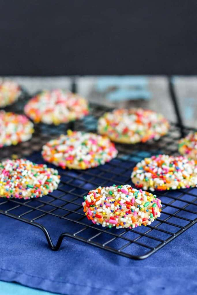 Confetti Pudding Cookies | A Nerd Cooks