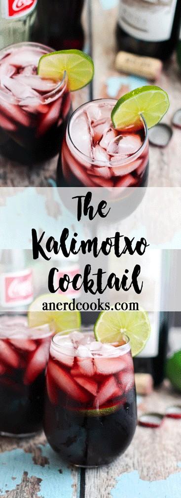 Kalimotxo Cocktail   A Nerd Cooks
