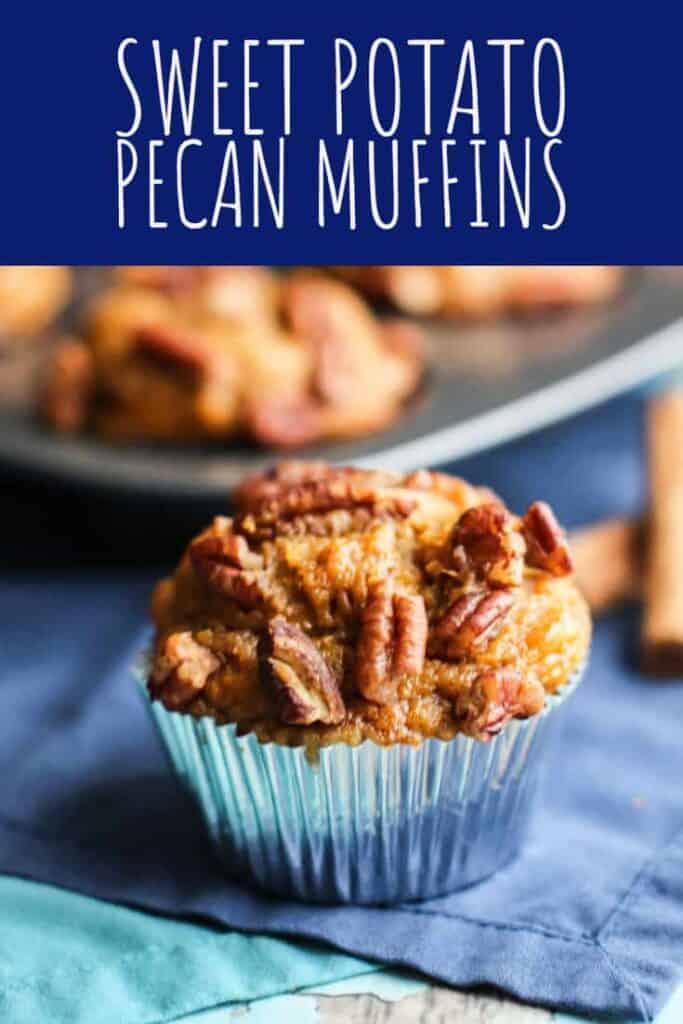 Sweet Potato Pecan Muffins | A Nerd Cooks