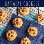 Pumpkin Oatmeal Chocolate Chip Cookies | A Nerd Cooks