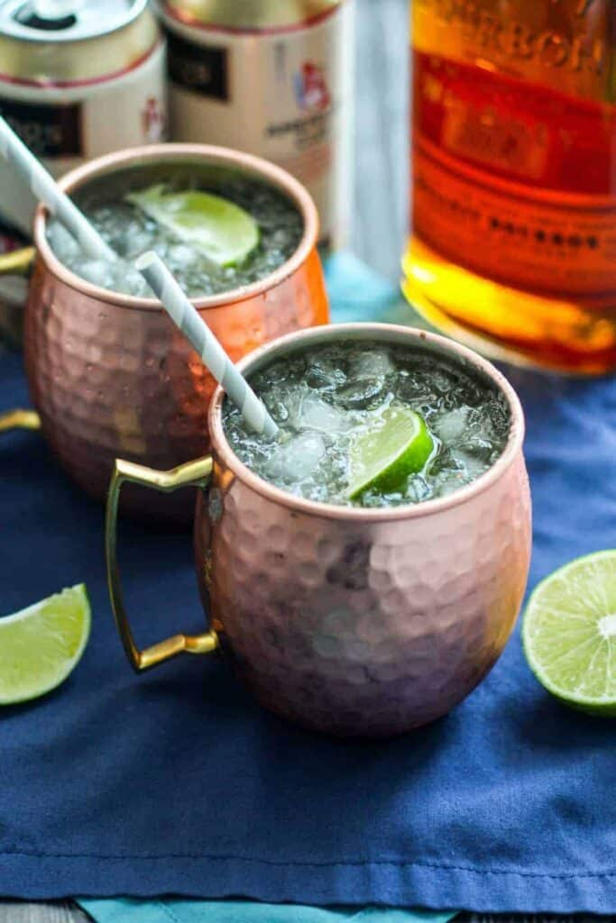 Bourbon Moscow Mule | A Nerd Cooks