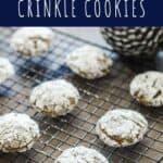 Gingerbread Crinkle Cookies | A Nerd Cooks