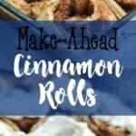 Make-Ahead Cinnamon Rolls   A Nerd Cooks