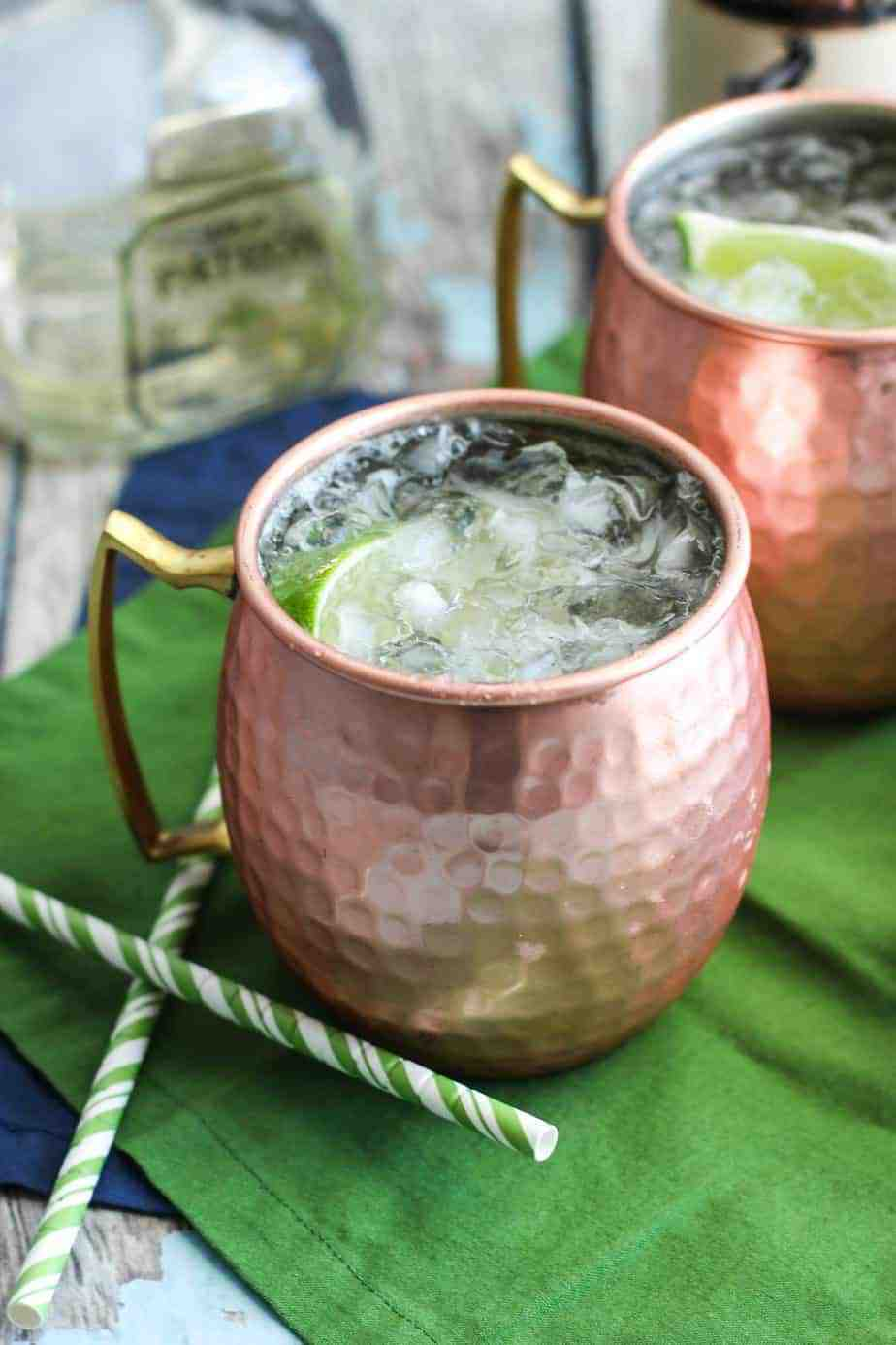 Mexican Moscow Mule | A Nerd Cooks