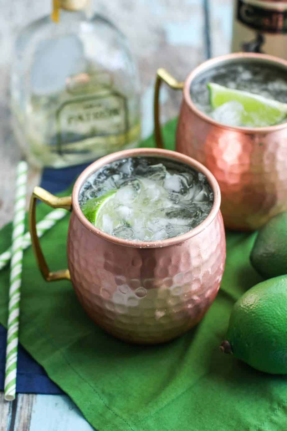 picture about Moscow Mule Recipe Printable referred to as Mexican Moscow Mule - produced with tequila A Nerd Chefs