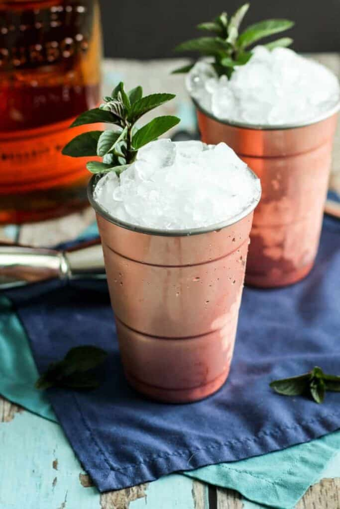 Mint Juleps | A Nerd Cooks