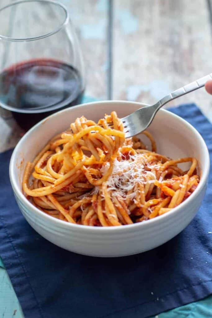 Pasta all'Amatriciana | A Nerd Cooks
