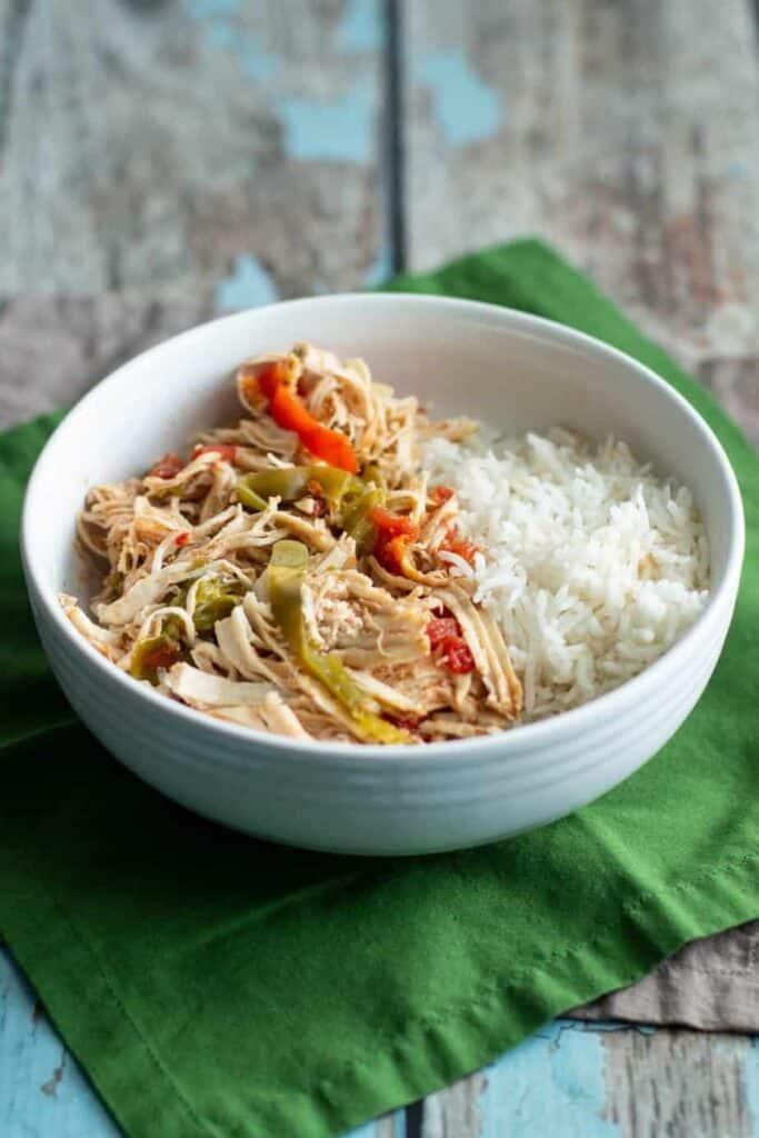 Pressure Cooker Chicken Ropa Vieja | A Nerd Cooks