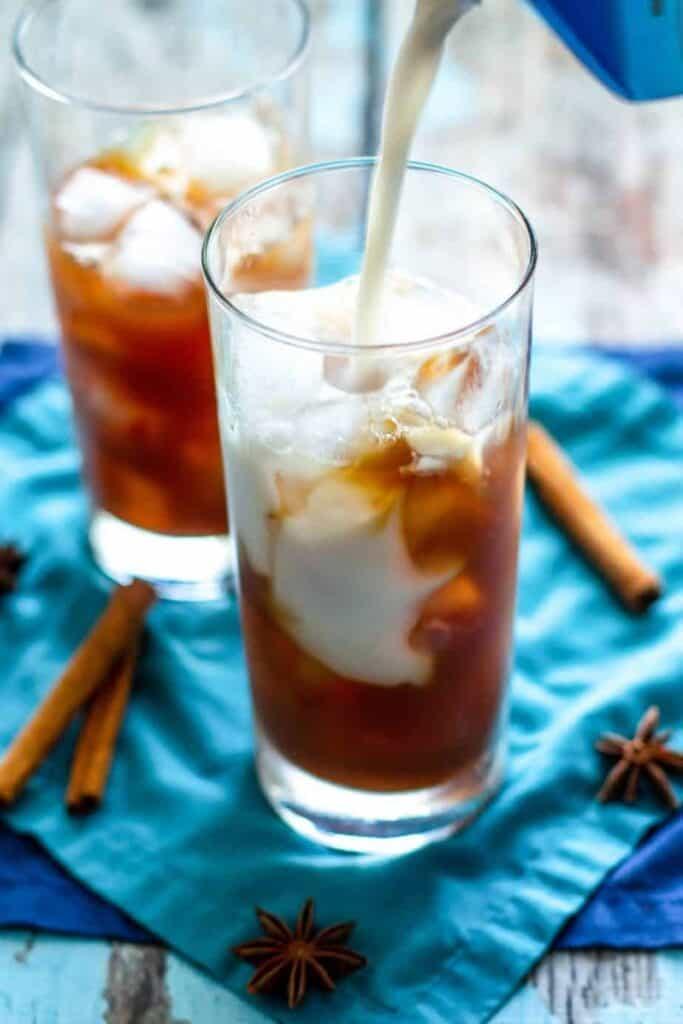 Iced Chai Lattes   A Nerd Cooks