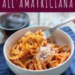 Pasta all'Amatriciana | A Nerd Cooks