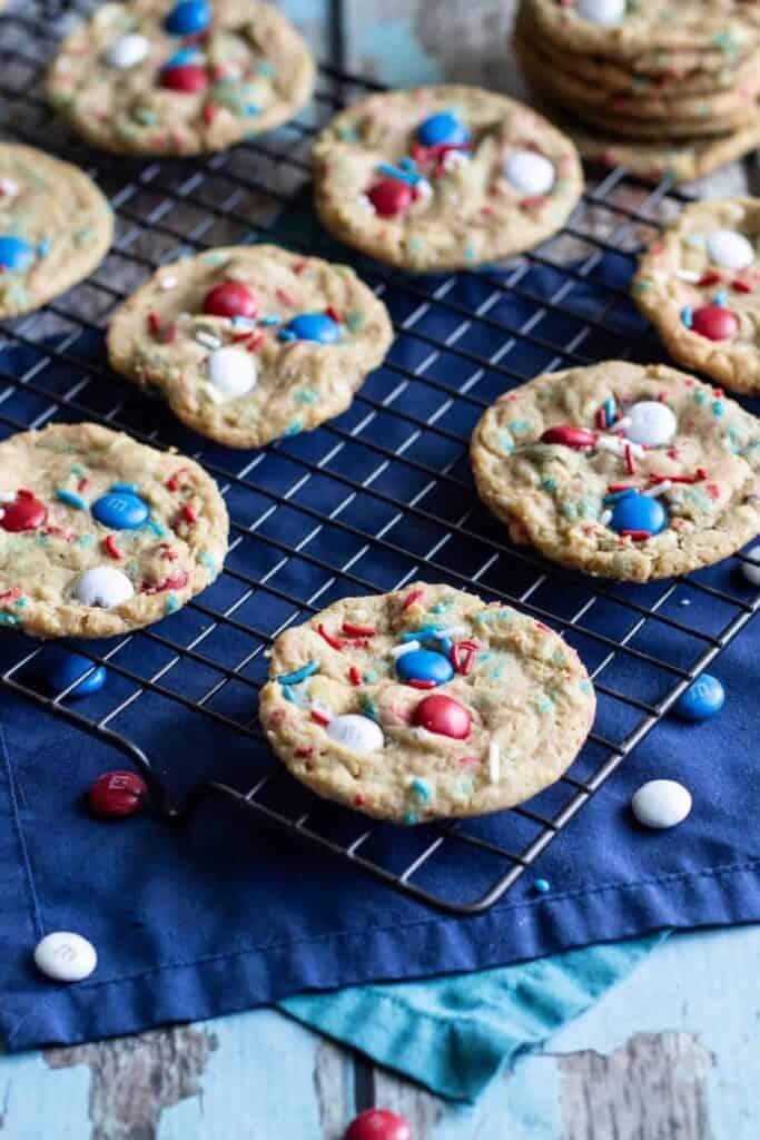 Firecracker Pudding Cookies | A Nerd Cooks