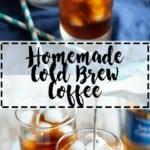 Homemade Cold Brew Coffee | A Nerd Cooks