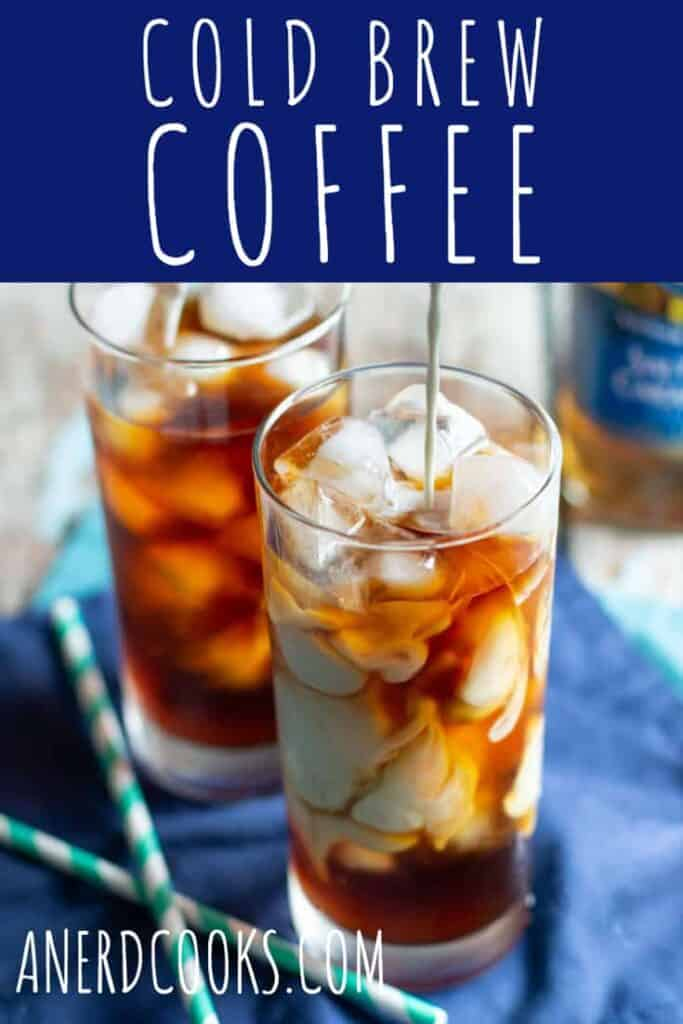 This homemade cold brew coffee is sweet, smooth, and delicious. It will give you the caffeine hit that you need.