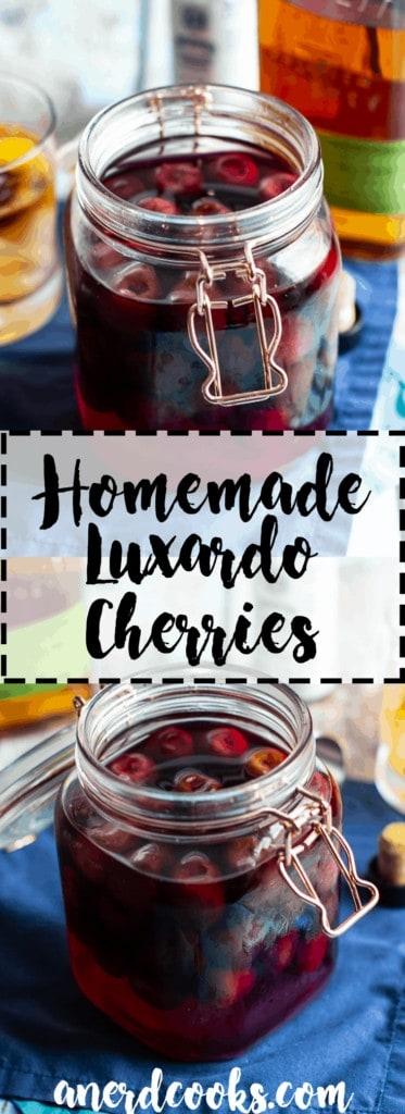 Homemade Luxardo Cherries | A Nerd Cooks