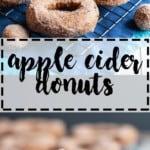 Apple Cider Donuts | A Nerd Cooks