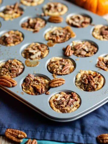 Bite-Sized Pecan Pies | A Nerd Cooks
