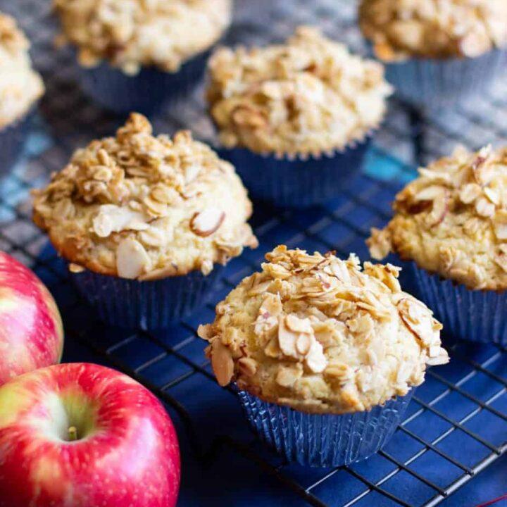 Gluten-Free Muesli Muffins | A Nerd Cooks