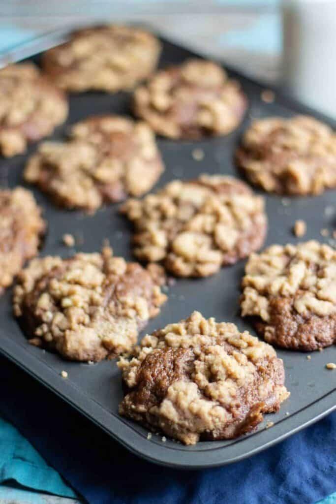 Banana Gingerbread Muffins | A Nerd Cooks