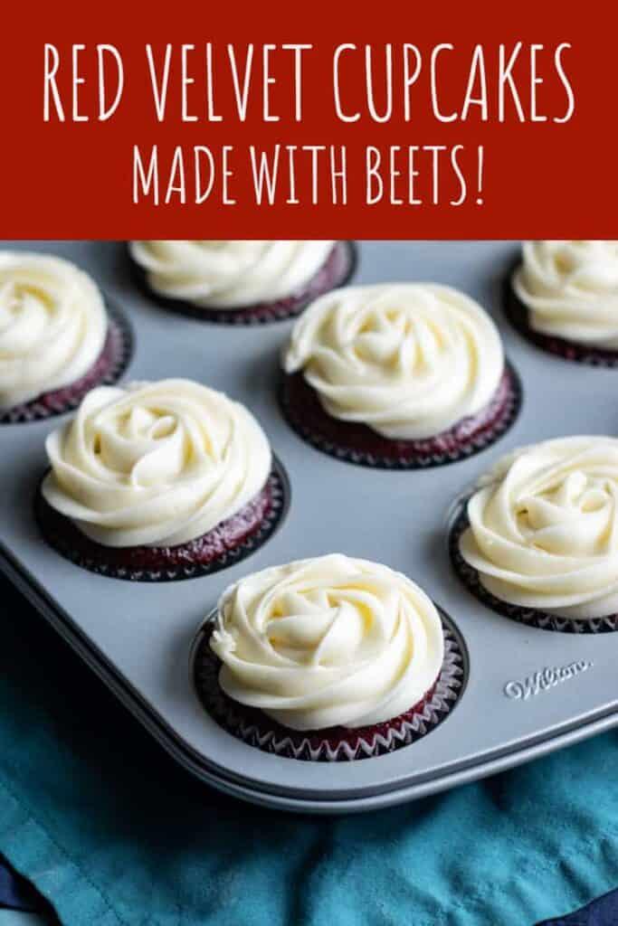 Beet Red Velvet Cupcakes | A Nerd Cooks