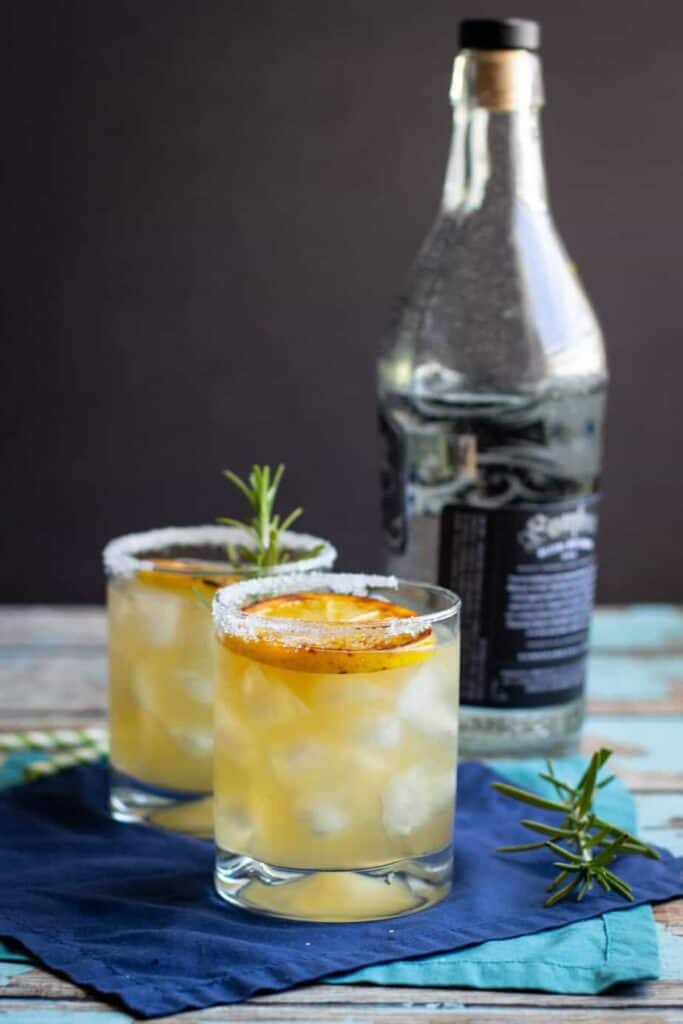 Grilled Mezcal Margarita | A Nerd Cooks