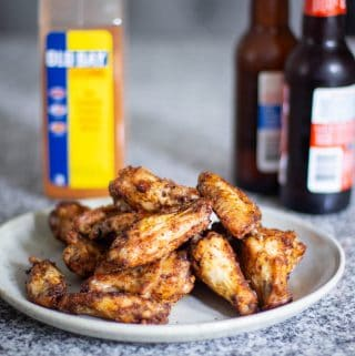 Air Fryer Chicken Wings | A Nerd Cooks