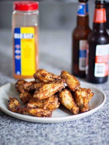 Air Fryer Chicken Wings | A Nerd Cooks