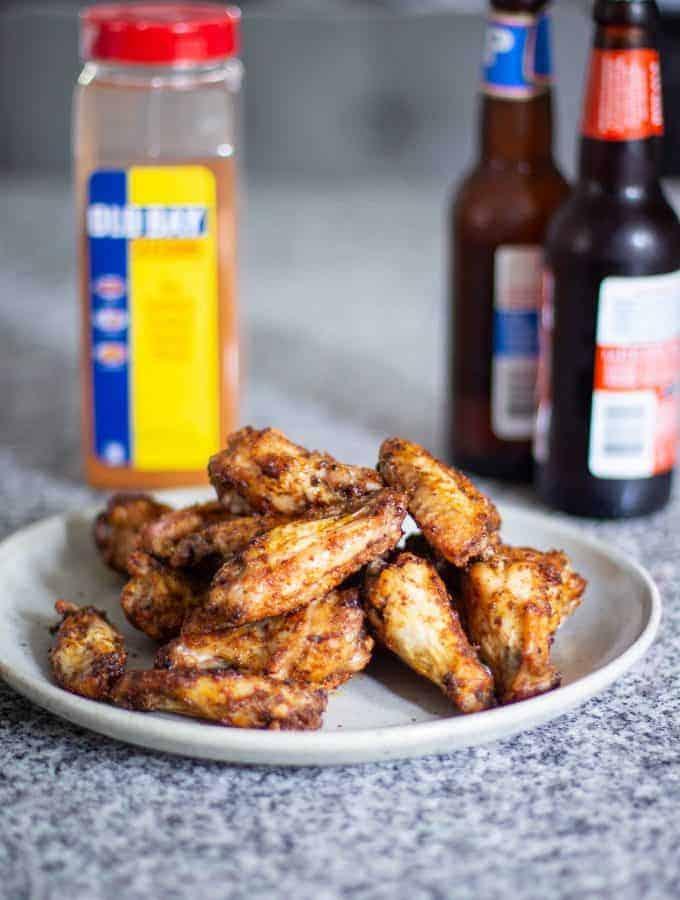 Air Fryer Chicken Wings   A Nerd Cooks
