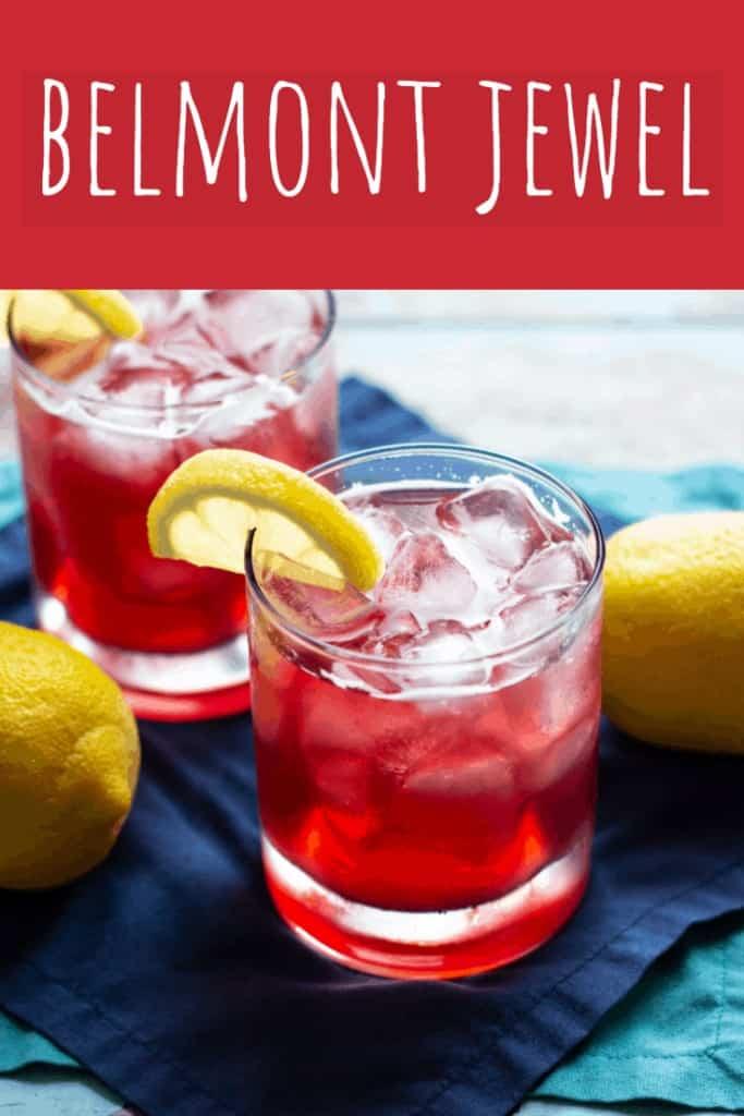 Belmont Jewel Cocktail | A Nerd Cooks