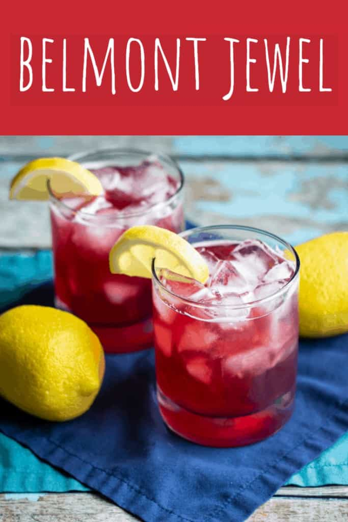 Belmont Jewel Cocktail   A Nerd Cooks