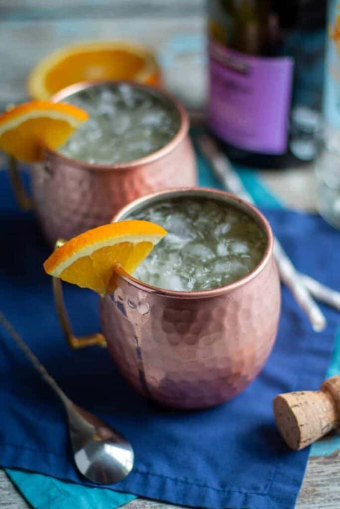 Mimosa Moscow Mules | A Nerd Cooks