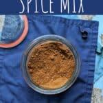 pinterest pin for pumpkin pie spice mix