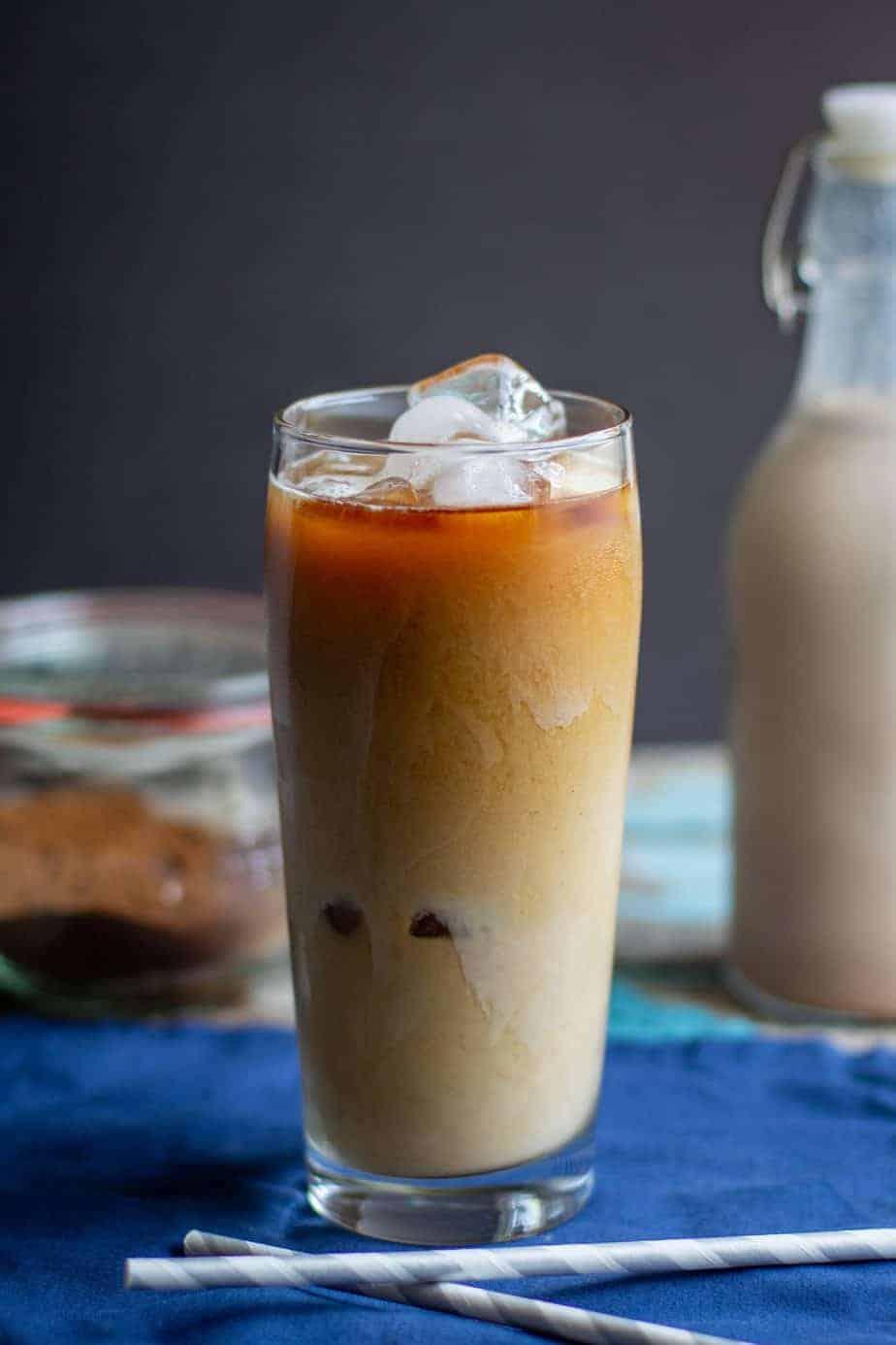 Homemade Pumpkin Spice Cold Brew Coffee A Nerd Cooks